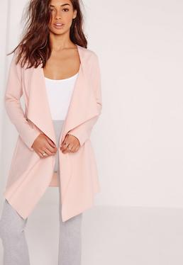Waterfall Jacket Blush