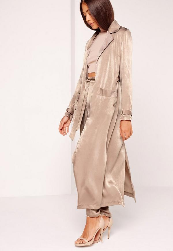 Buy Original Brown Leather Duster For Men Made of Suede Leather. Free Shipping in USA, UK, Canada, Australia & Worldwide With Custom Made to Measure Option.