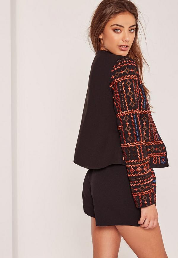 Premium Quilted Embroidered Jacket Miss 28 Images Premium Quilted Embroidered Jacket Miss