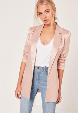 Pink Boyfriend Style Blazer