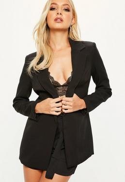 blazer long achat veste longue femme missguided. Black Bedroom Furniture Sets. Home Design Ideas
