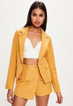 Yellow Military Jacket