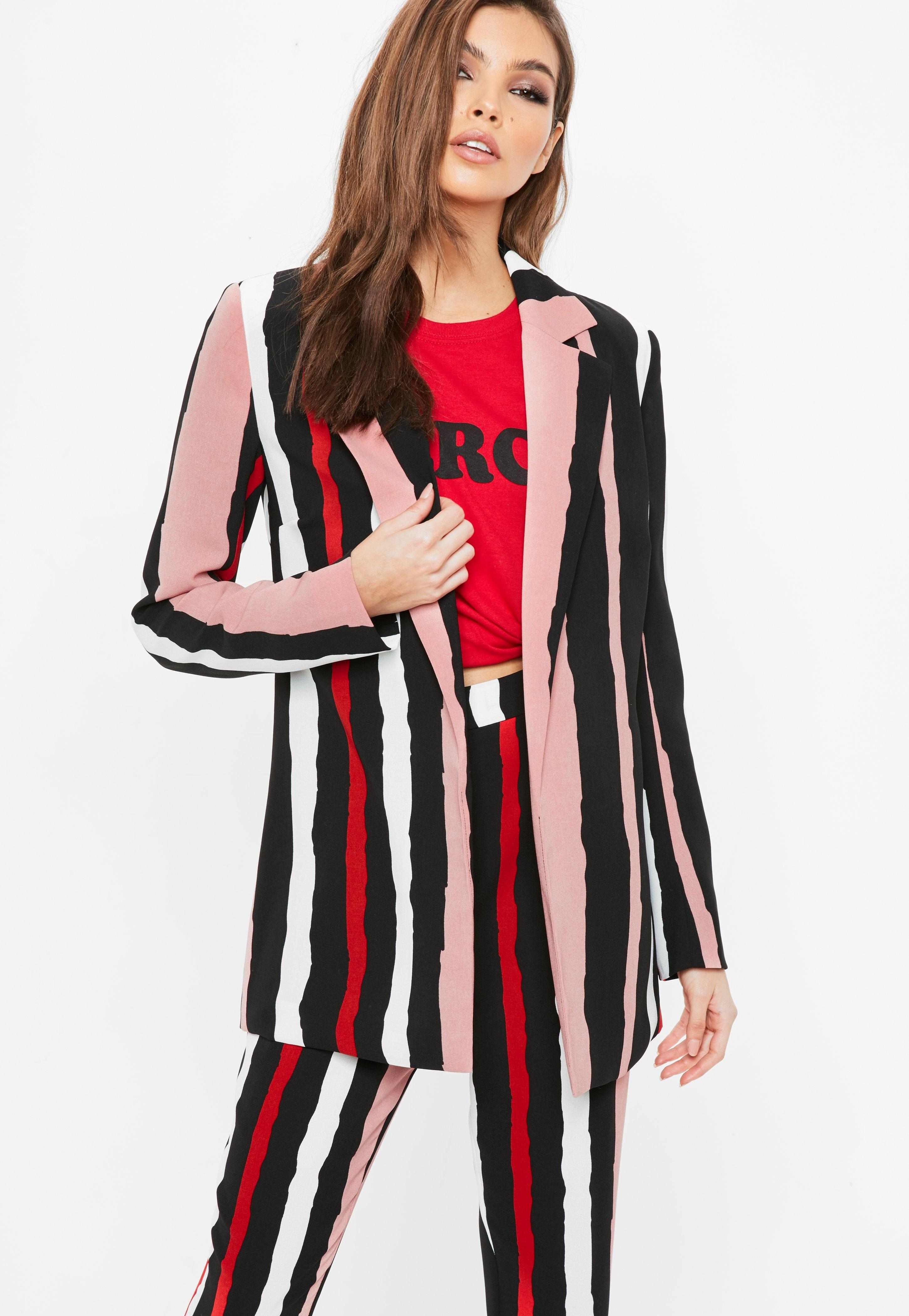 Veste blazer femme rose fushia