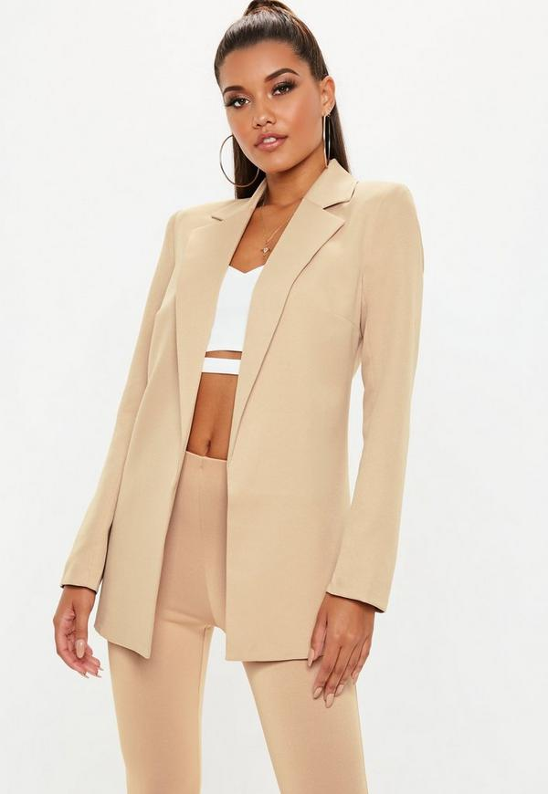 Maybe it is time for you to pick up your very own boyfriend blazer. Boyfriend-style clothing is a hot trend—from boyfriend jeans to shirt dresses, it is a fun and flirty look. You love the way you look and feel in your boyfriend's jacket.