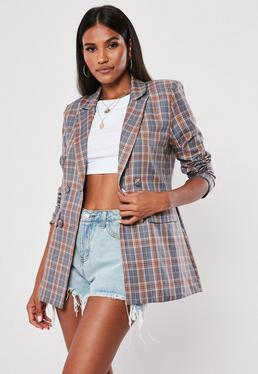 9a43846c001bc Blazers for Women - Shop Smart & Tweed Blazers UK - Missguided