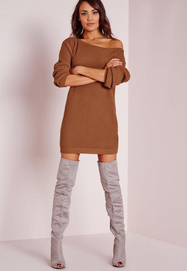 fabulous brown off shoulder outfit arm