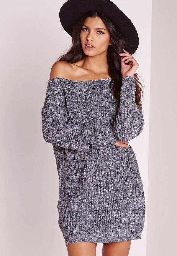 robe pull paule d nud e gris chin missguided. Black Bedroom Furniture Sets. Home Design Ideas