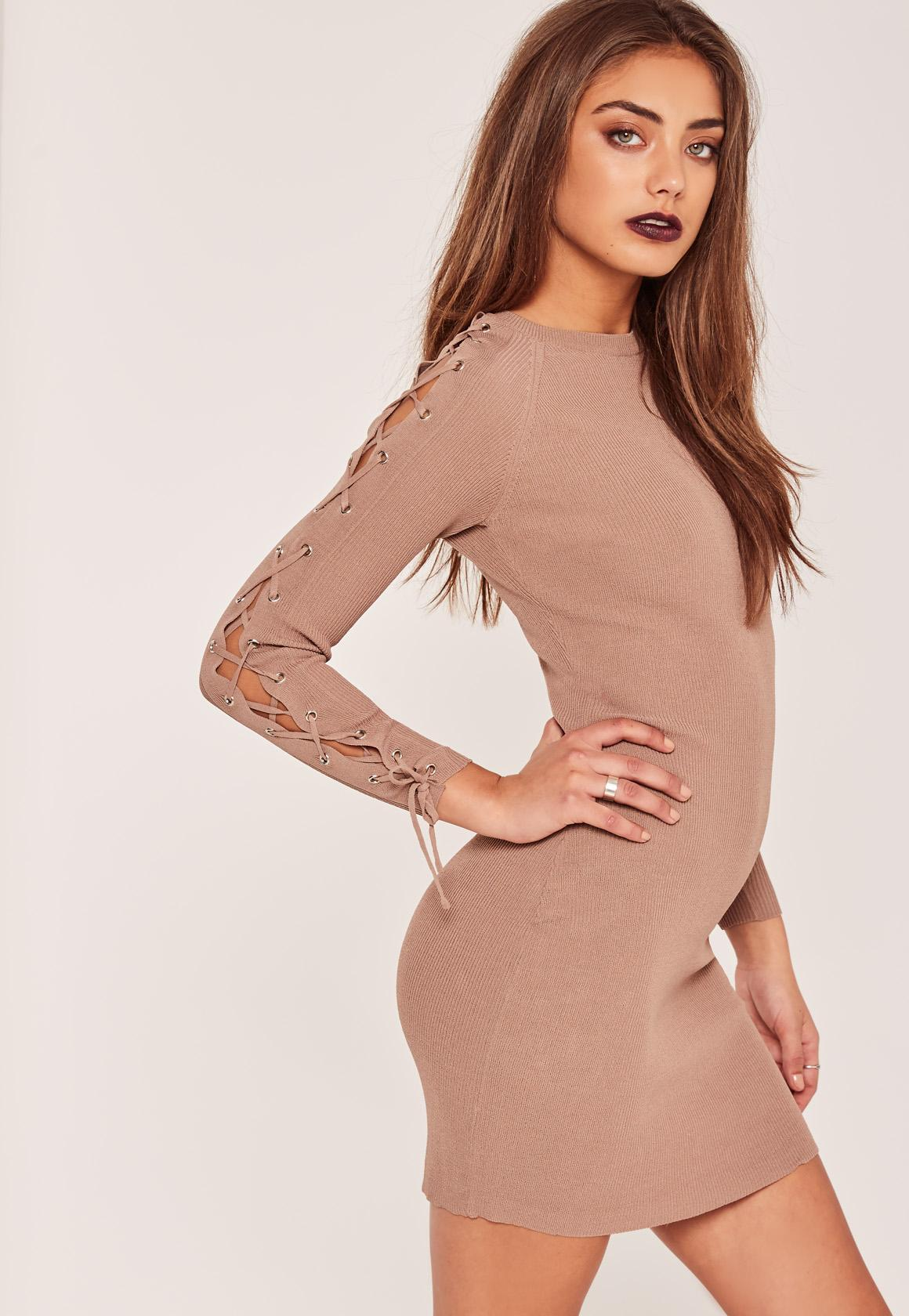 Sweater Dresses, Knit Dress | Missguided