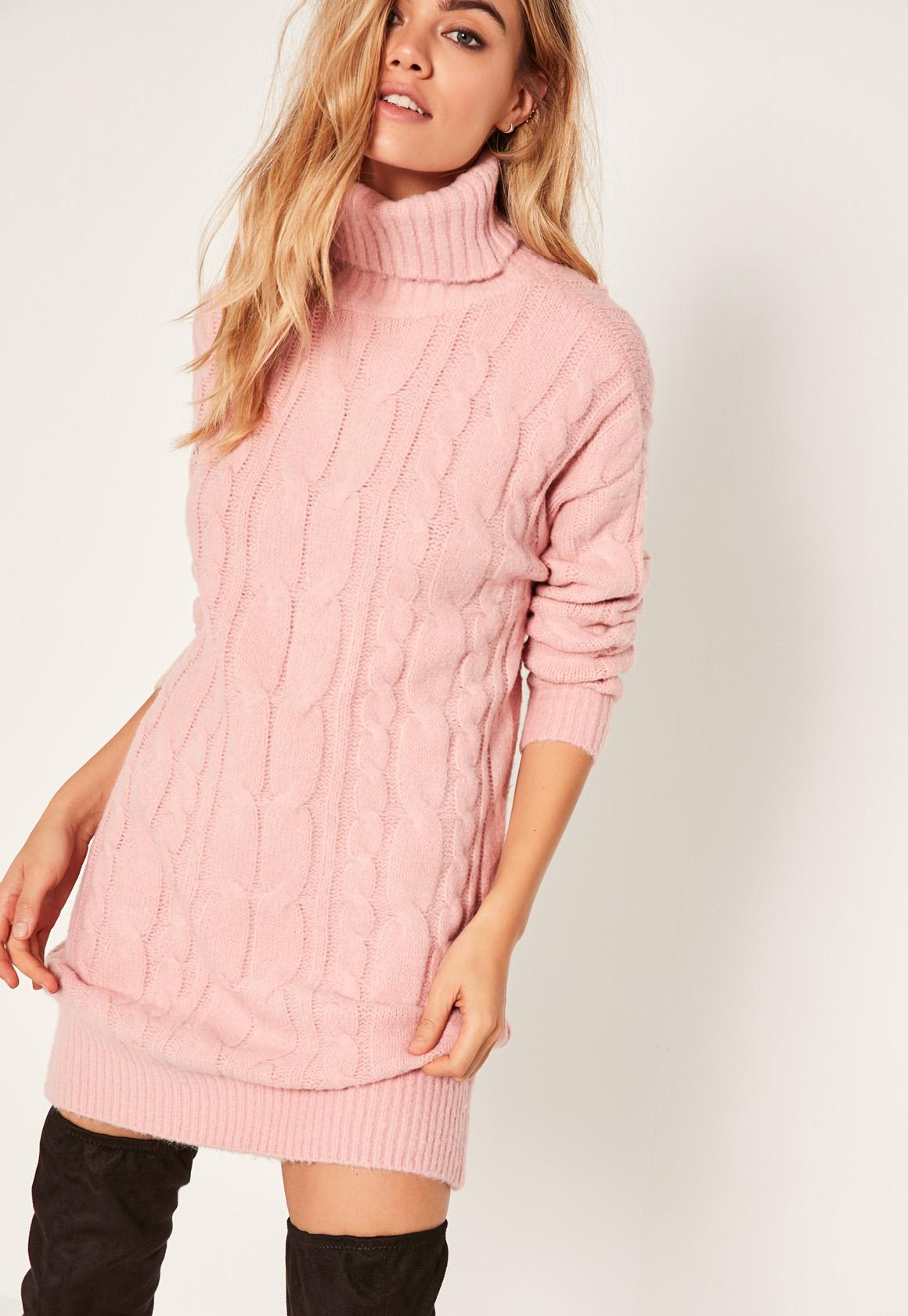 2019 year for girls- Sweater pink dress