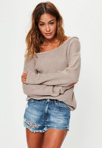 lovely brown off shoulder outfit knee