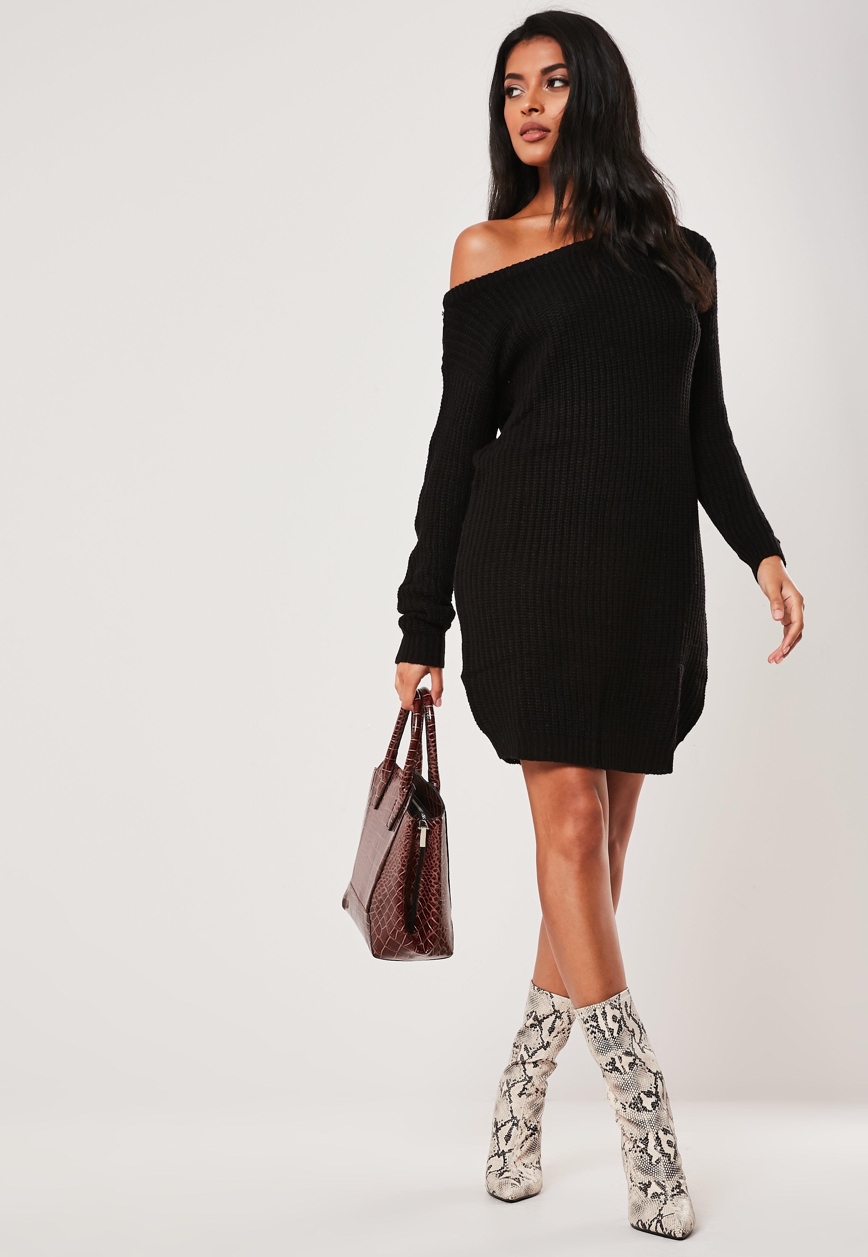 Kleid mit strick
