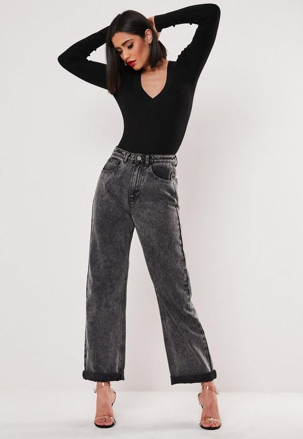 Missguided - Ultimate Plunge Knitted Bodysuit - 3