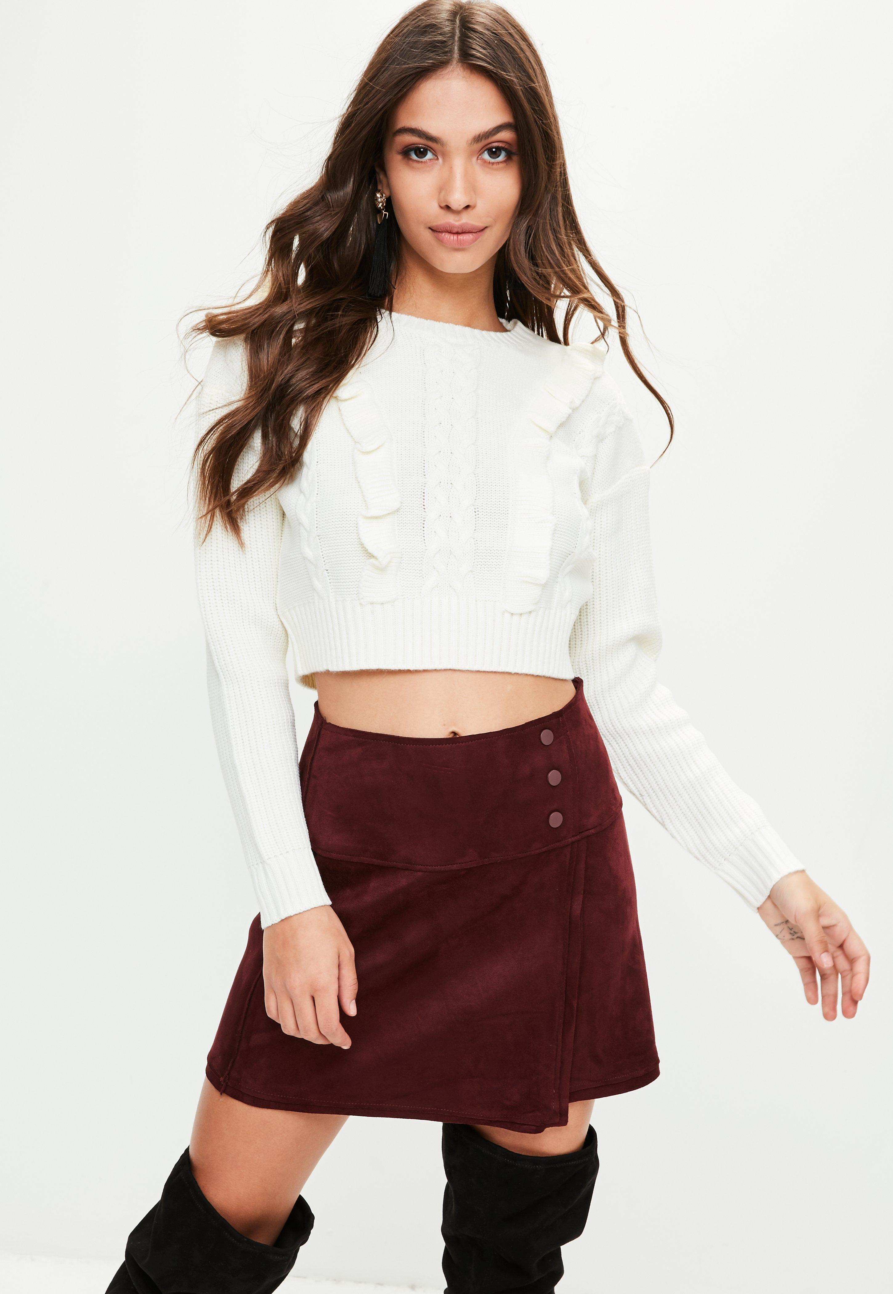 Cropped Sweaters - Knitted Crop Tops Online | Missguided
