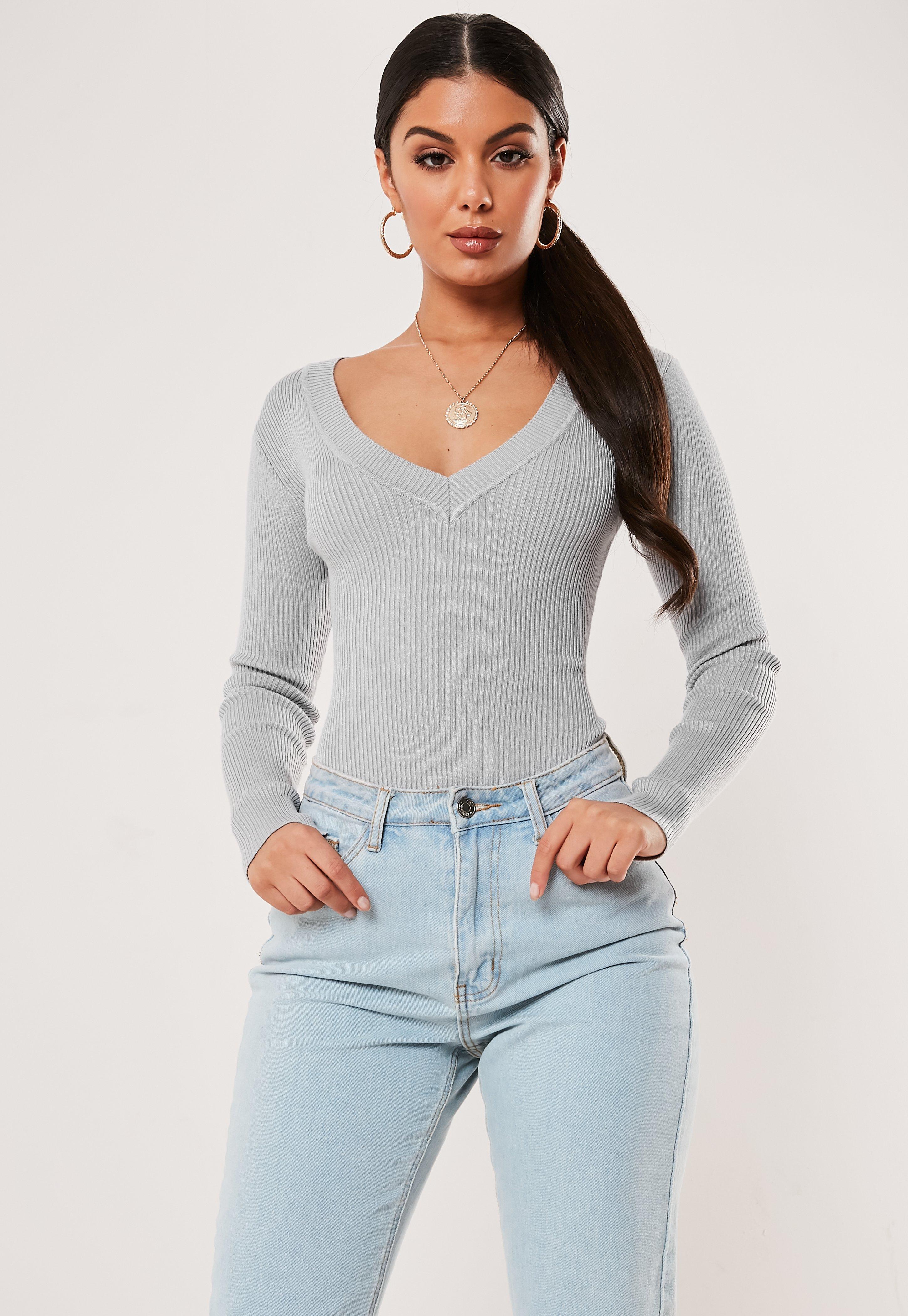 Long Sleeve Bodysuits Online Missguided Ireland Timberland 14865xsbn 12 Coklat Rosegold