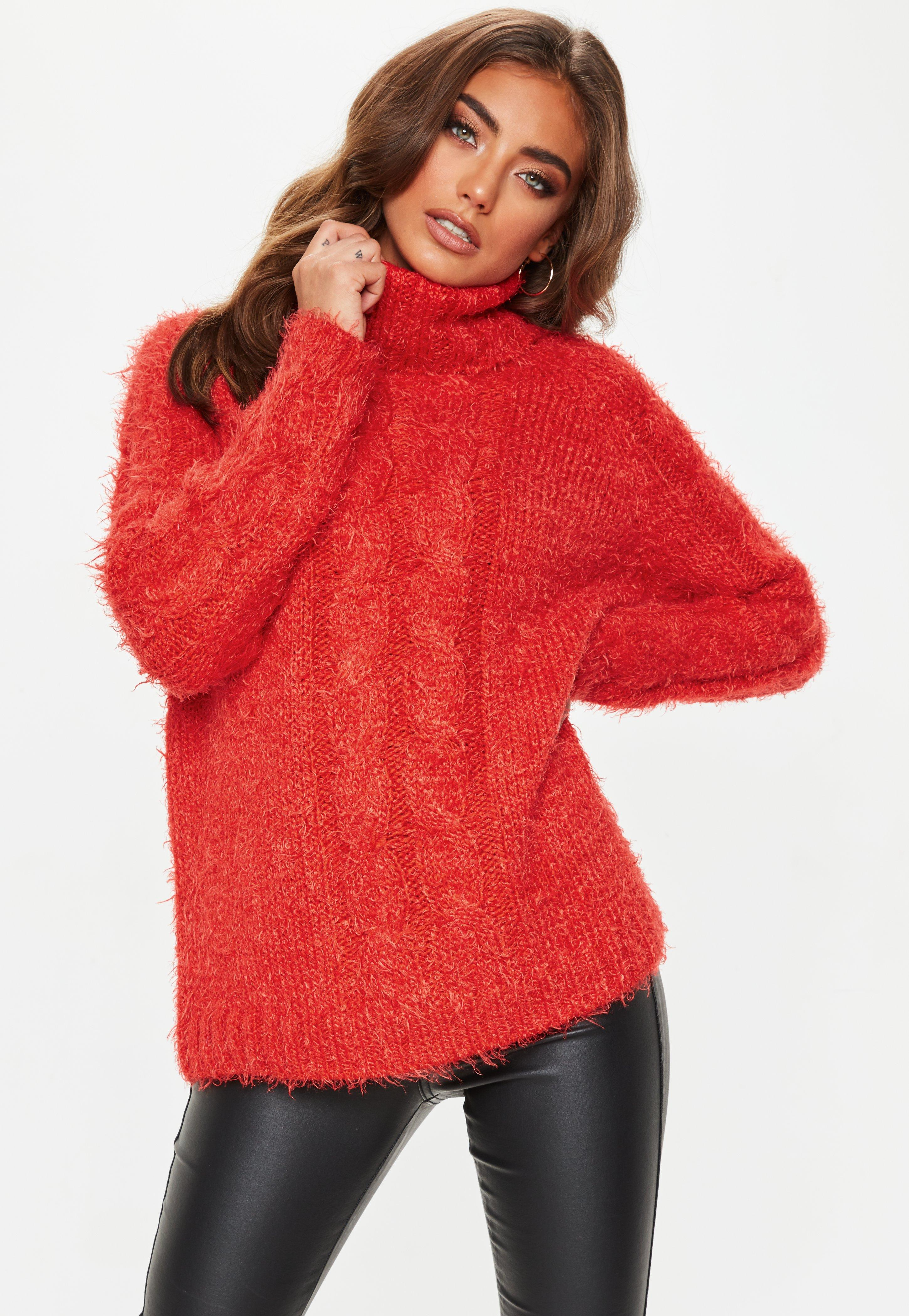 Fluffy Sweaters, Women's Mohair Pullovers | Missguided