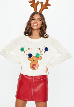 d397f03acc6db Women's Christmas Jumpers | Funny & Novelty - Missguided