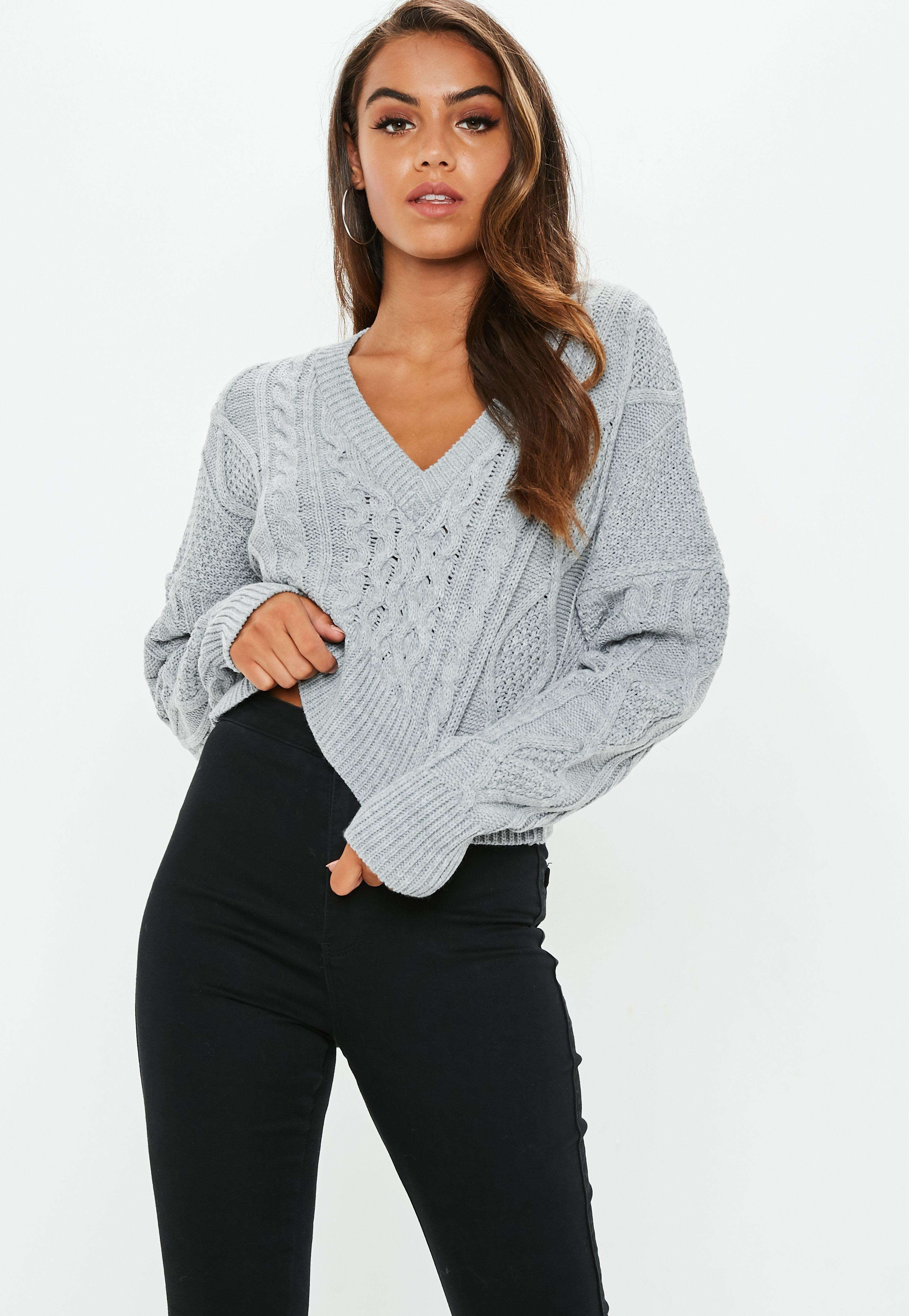 Cropped Sweaters  119e00afe