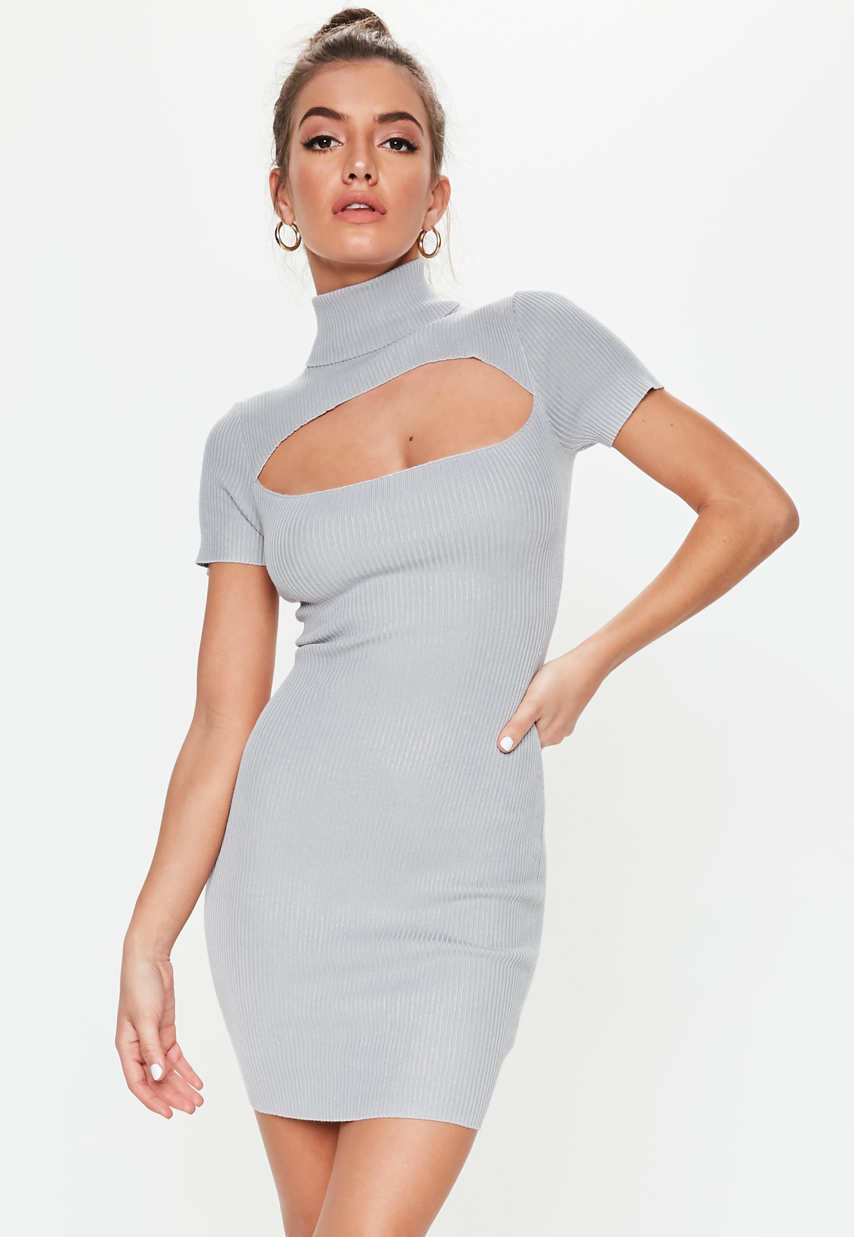 6fba8e0f8742 Jumper Dresses | Shop Knitted Dresses - Missguided