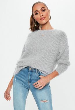 b4da27b0b34 Fluffy Jumpers & Women's Fluffy Sweaters Online - Missguided