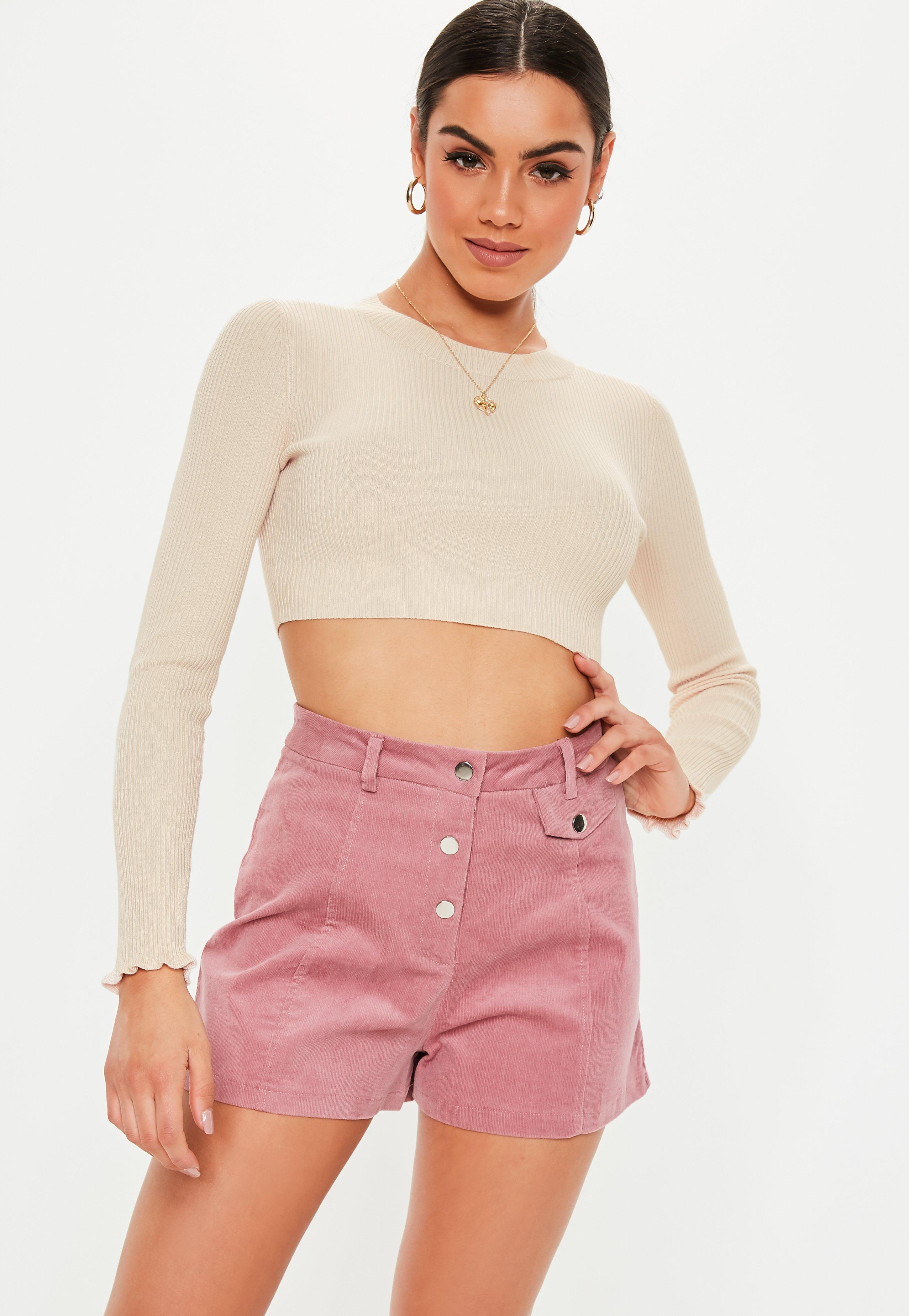 3978441089c099 Cropped Jumpers | Shop Short Jumpers - Missguided