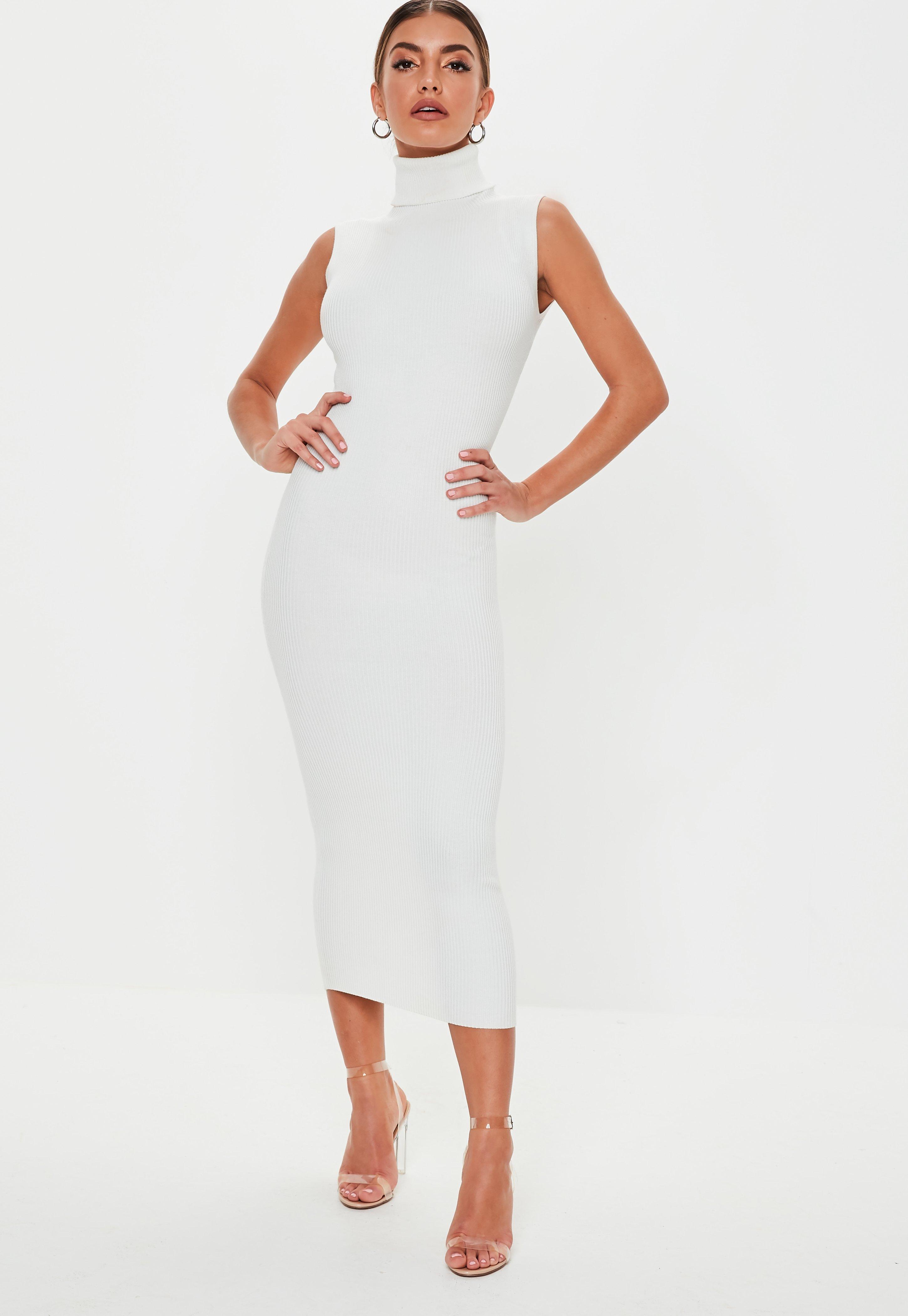 aa05242df2 Sukienka-tunika - Sukienki Trykotowe z Dzianiny - Missguided
