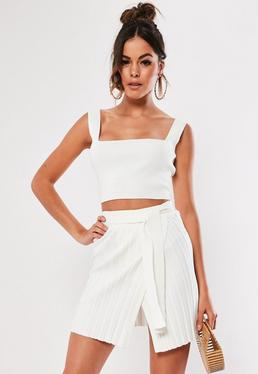 f67256aa19 White Skirts | Ivory & Off White Skirts - Missguided