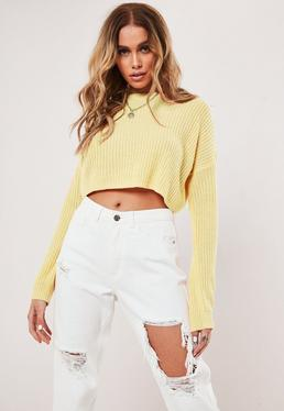cca250adf0ed2 Cropped Jumpers | Shop Short Jumpers - Missguided