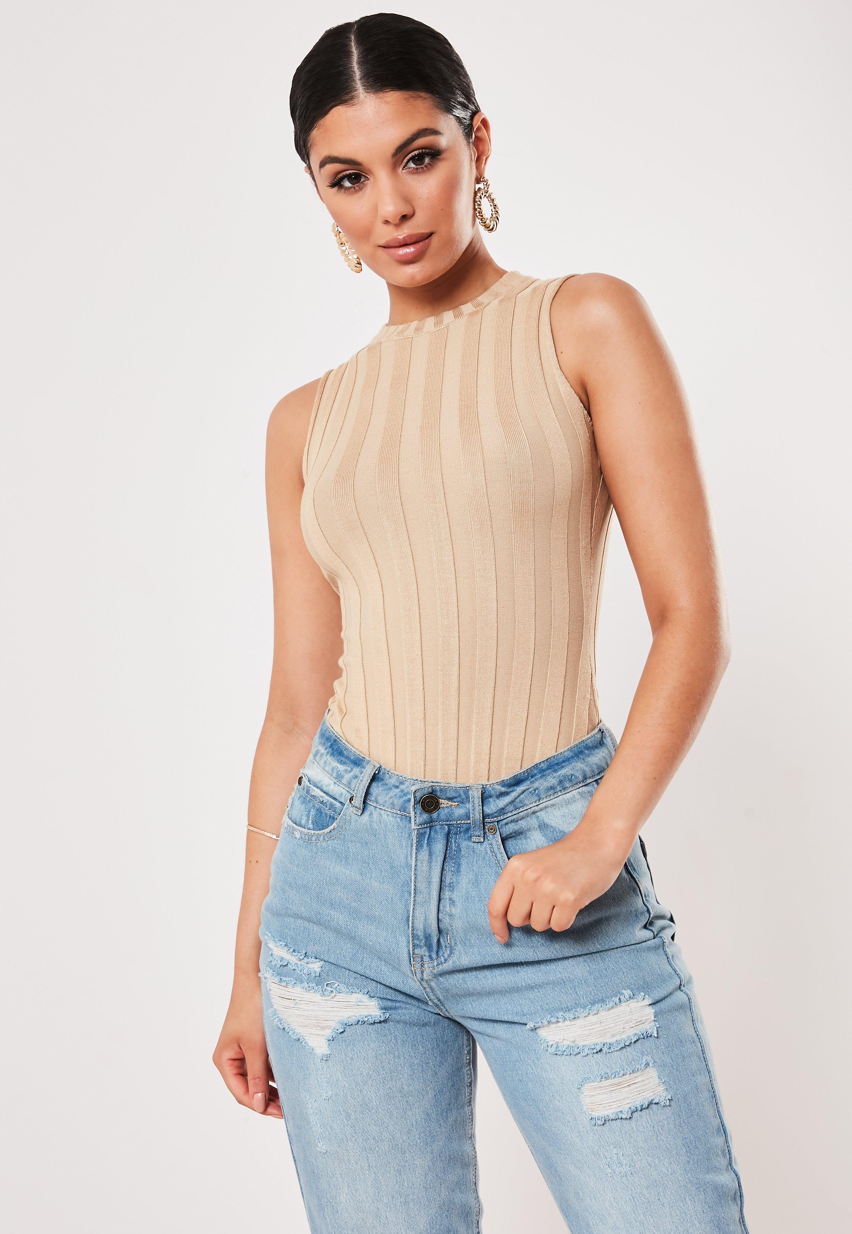 2768eb3473bd24 High Neck Bodysuits | Turtleneck Bodysuits - Missguided