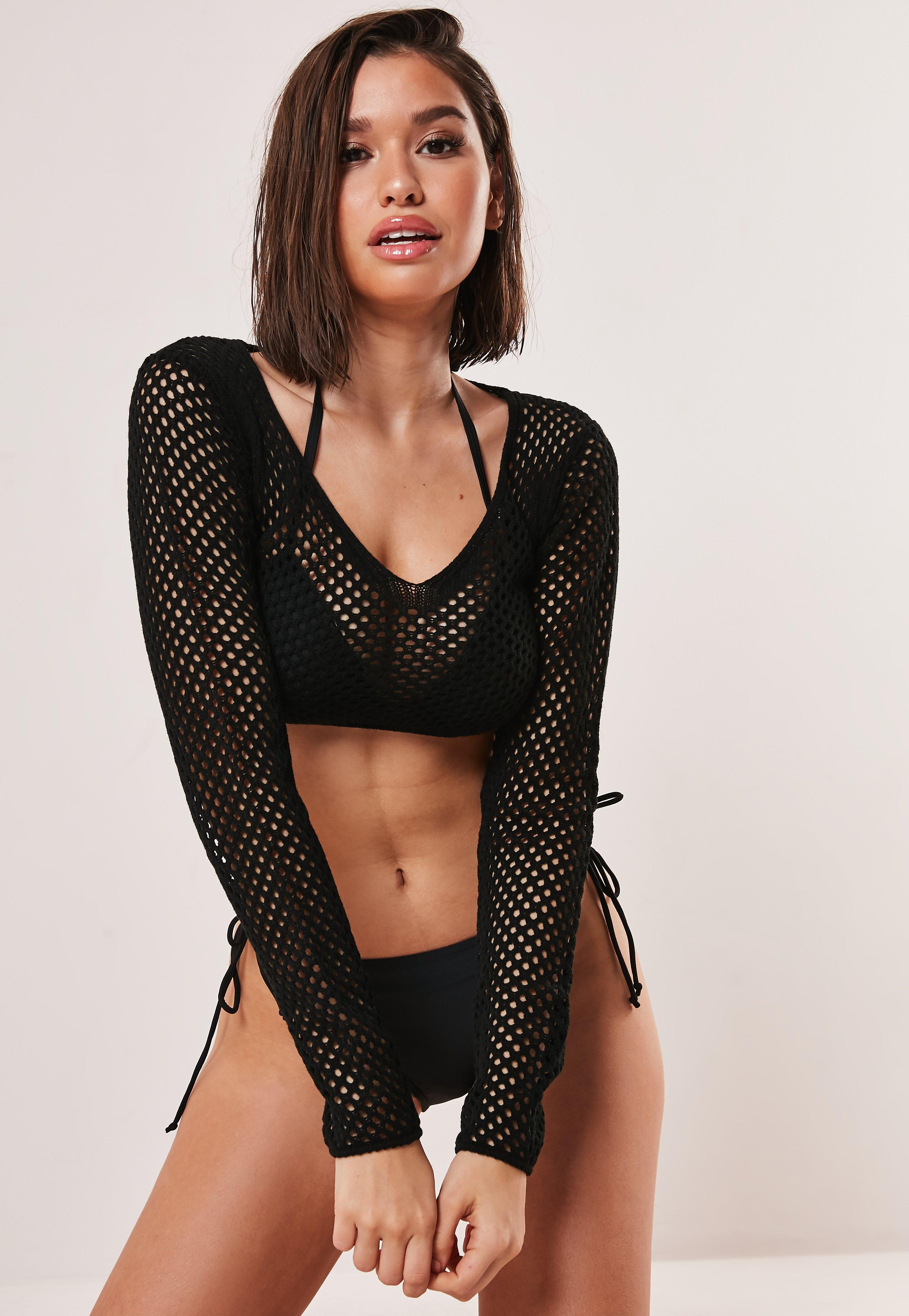 826d0a638a354 Mesh Tops   Fishnet & Sheer Tops - Missguided