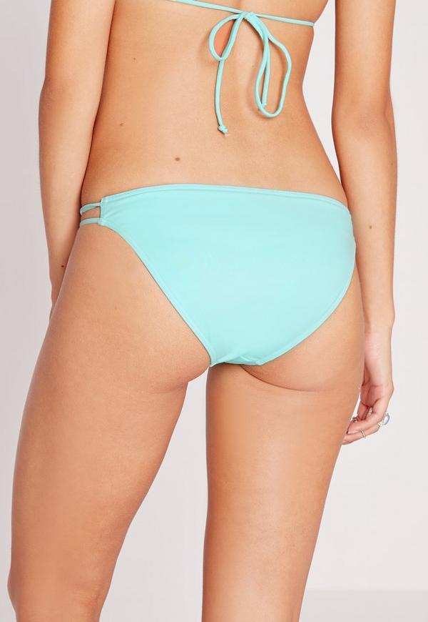 Double Strap Bikini Bottoms Mint Green - Mix & Match ... - photo #21