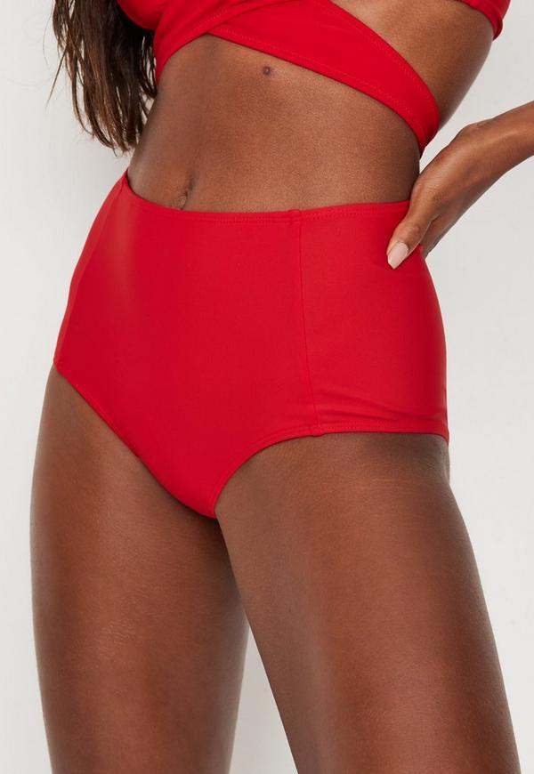 Cheap red bikini understand
