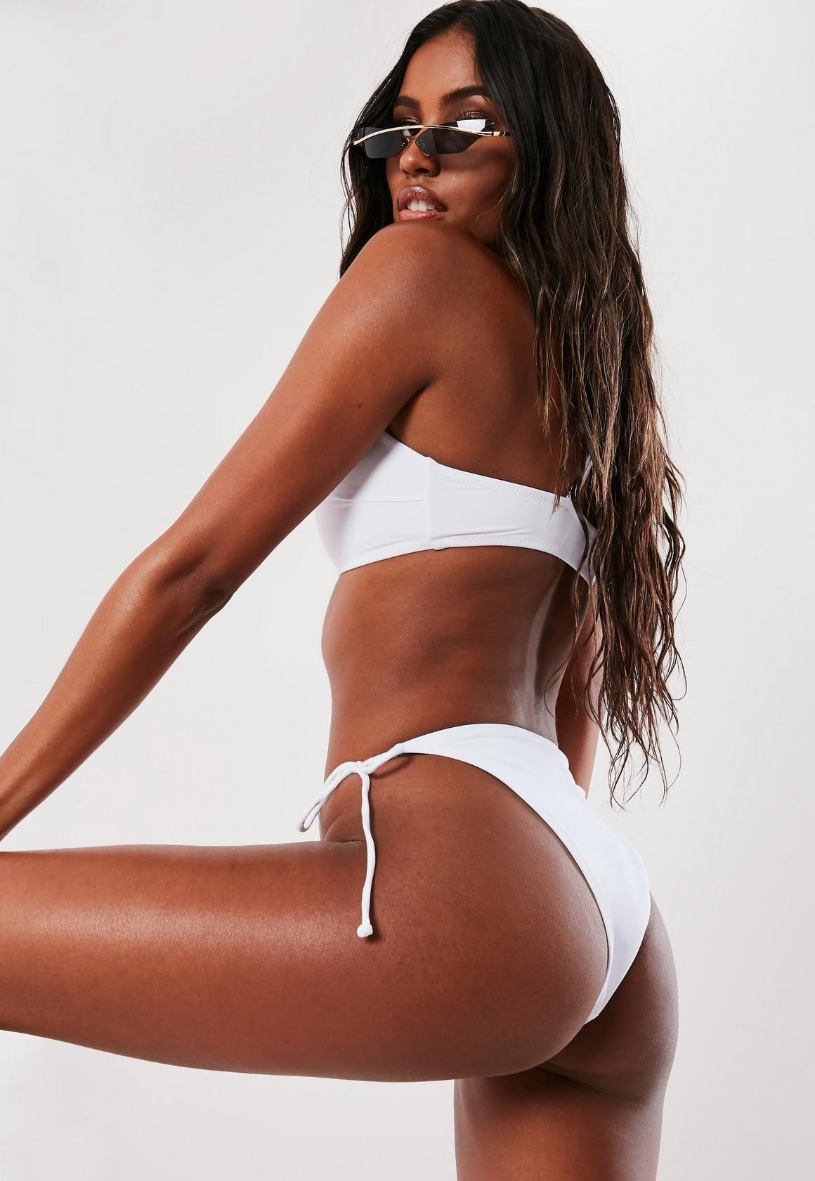 Missguided - bas de bikini à lanières  - 4
