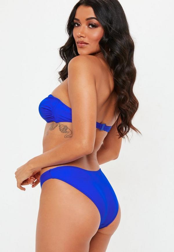 Cobalt Blue Hipster Bikini Bottoms