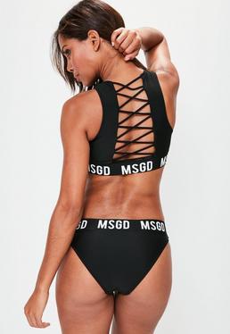 Black Msgd bikini Set