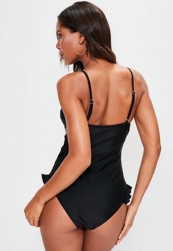 Buy low price, high quality swimsuit ruffle black with worldwide shipping on distrib-wq9rfuqq.tk
