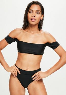 Black Bardot Mix And Match Top