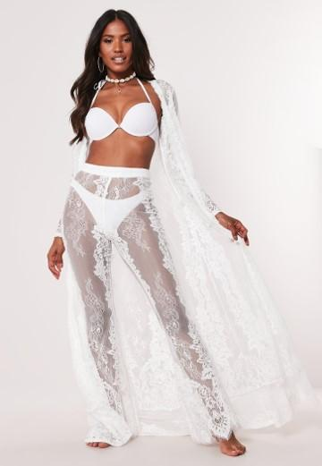 white-eyelash-lace-kimono by missguided