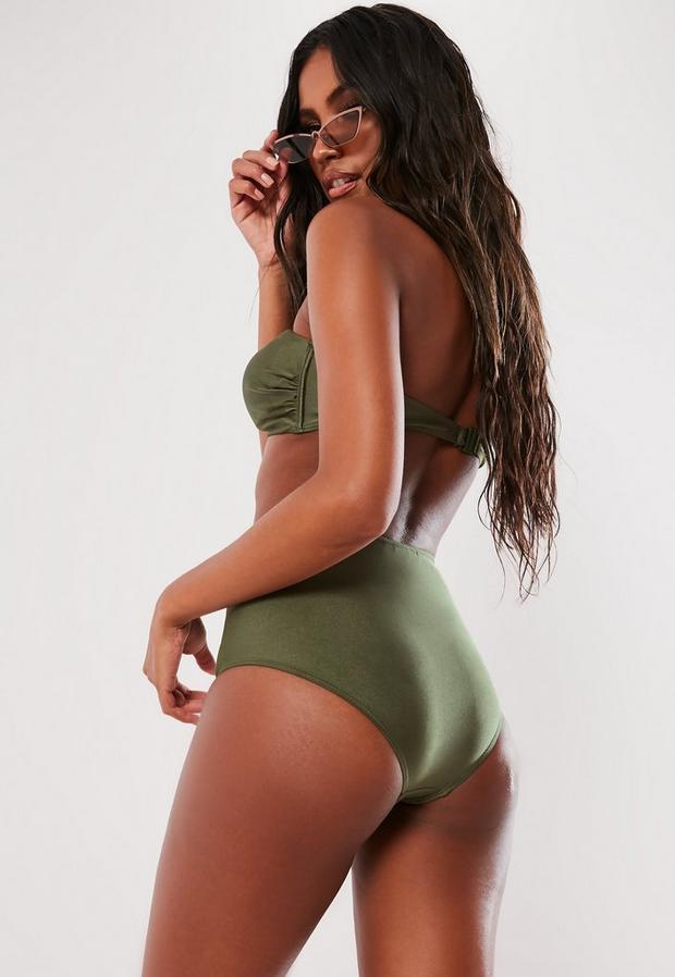 Missguided - Mix And Match Twist Bandeau Bikini Top - 4