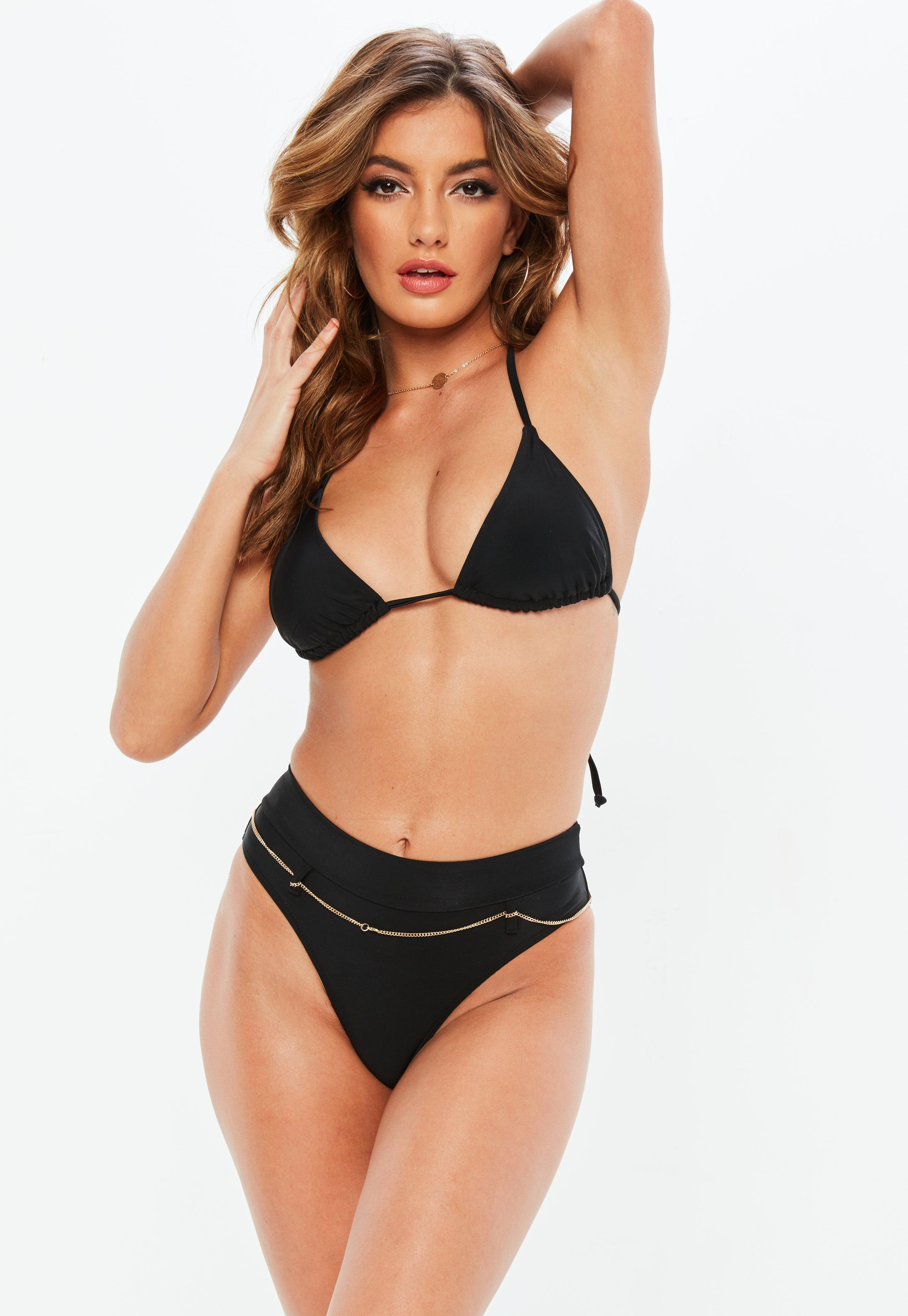 Attractive Women Swimsuit V By Controlwear Ruched Black