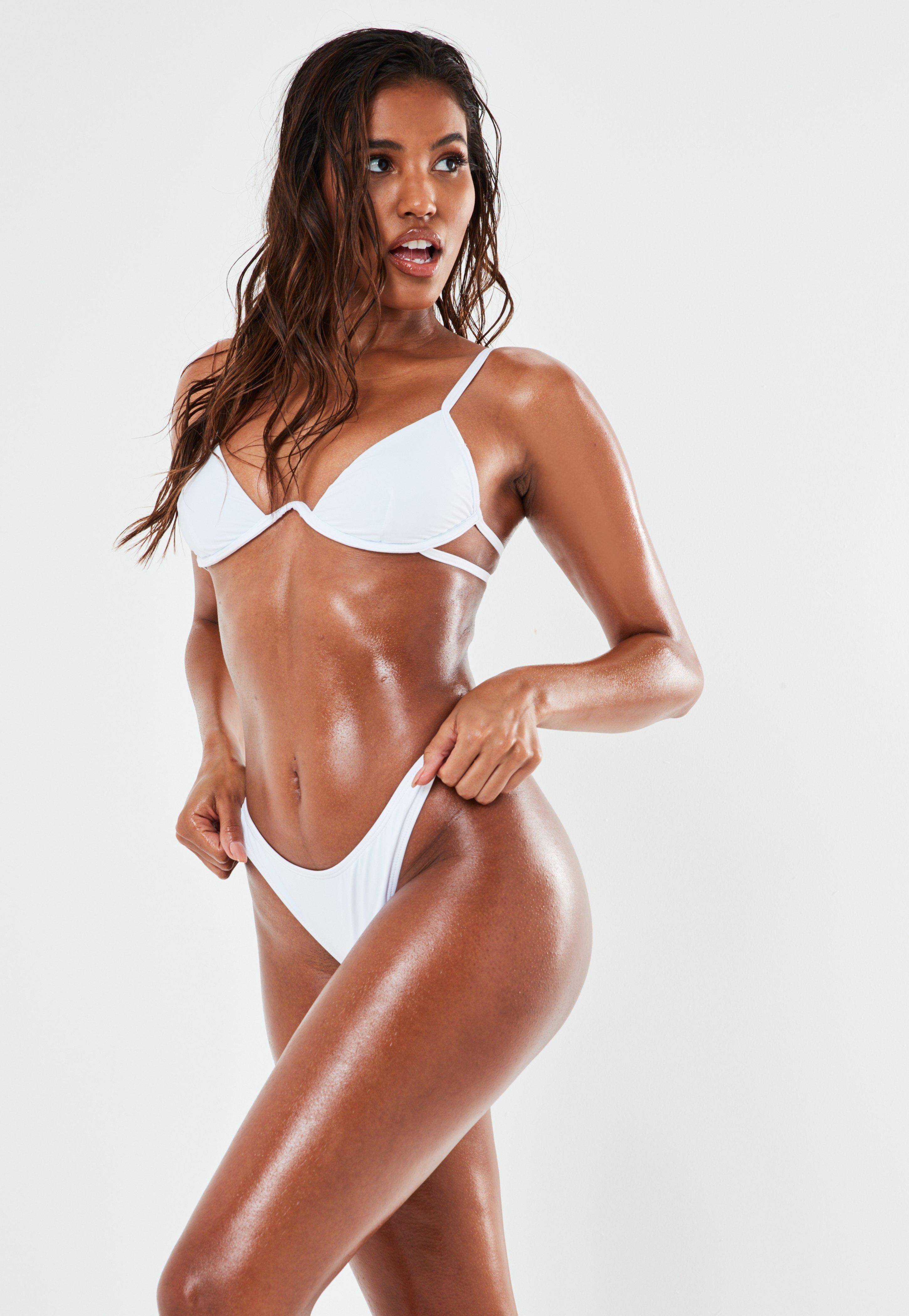 Bas Hwd2ye9i De Blanc Bikini Tanga ZOkXiPuT