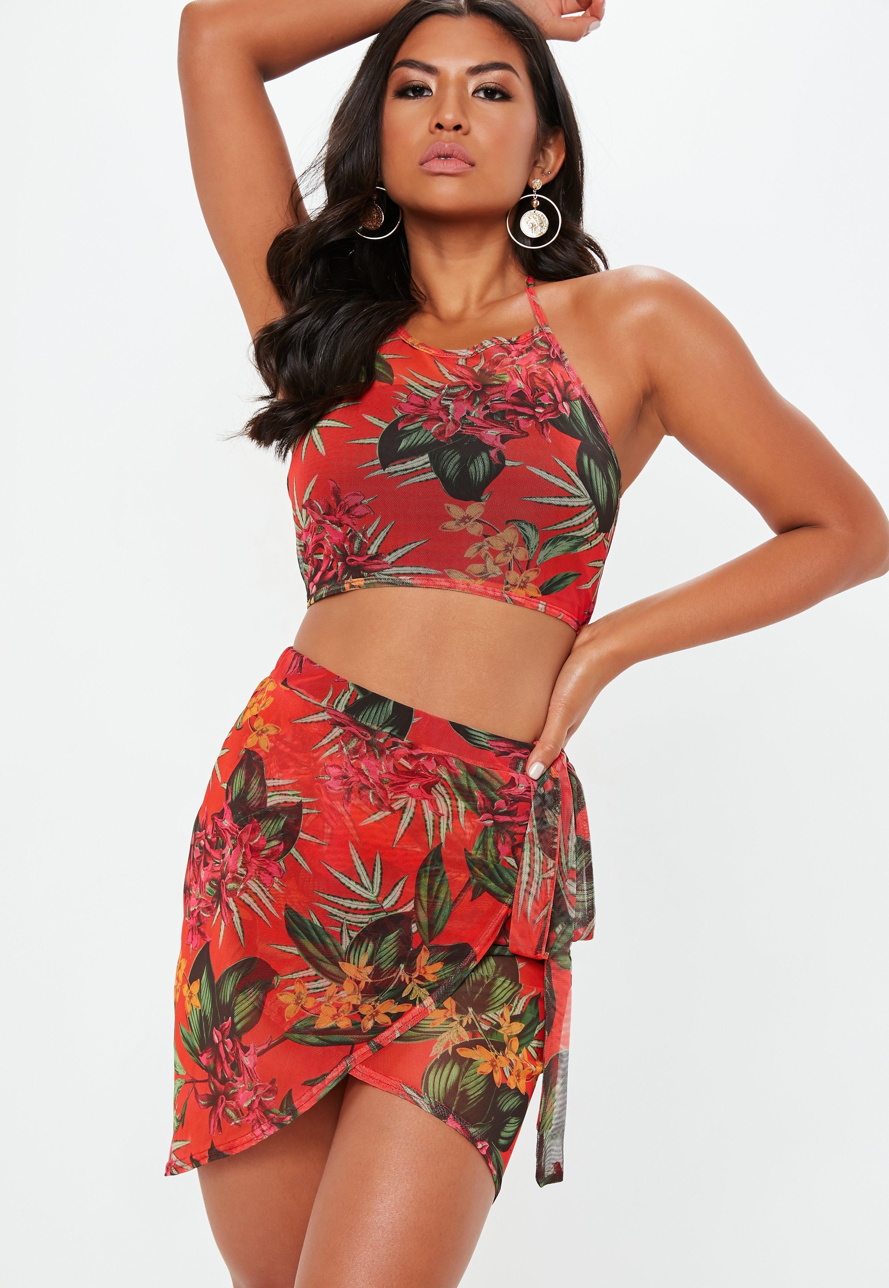Tenue de plage   Vêtement de plage femme - Missguided 4b72fa934b65