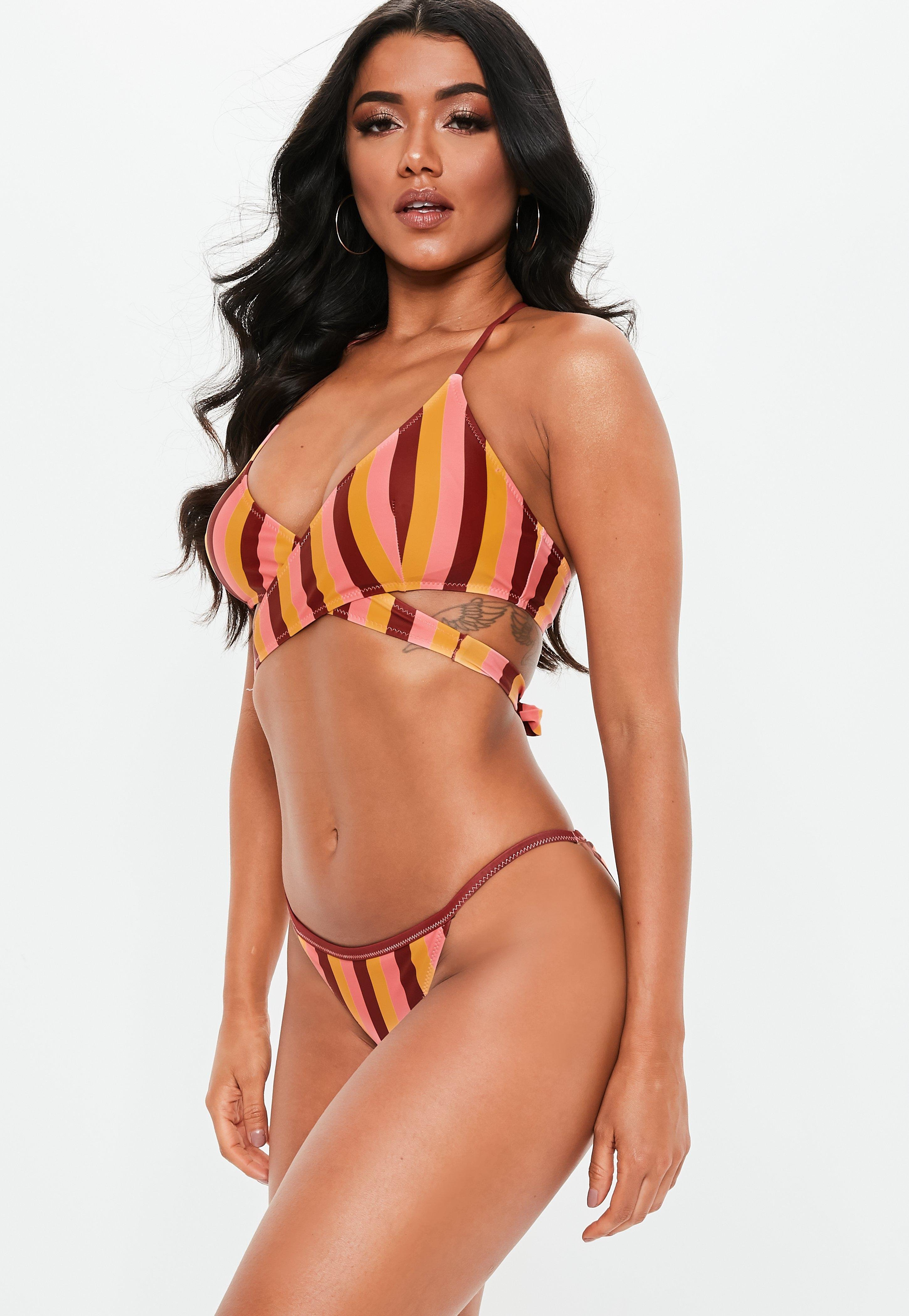 4d4a6126ff Bandage Bikinis & Bandage Swimsuits Online - Missguided