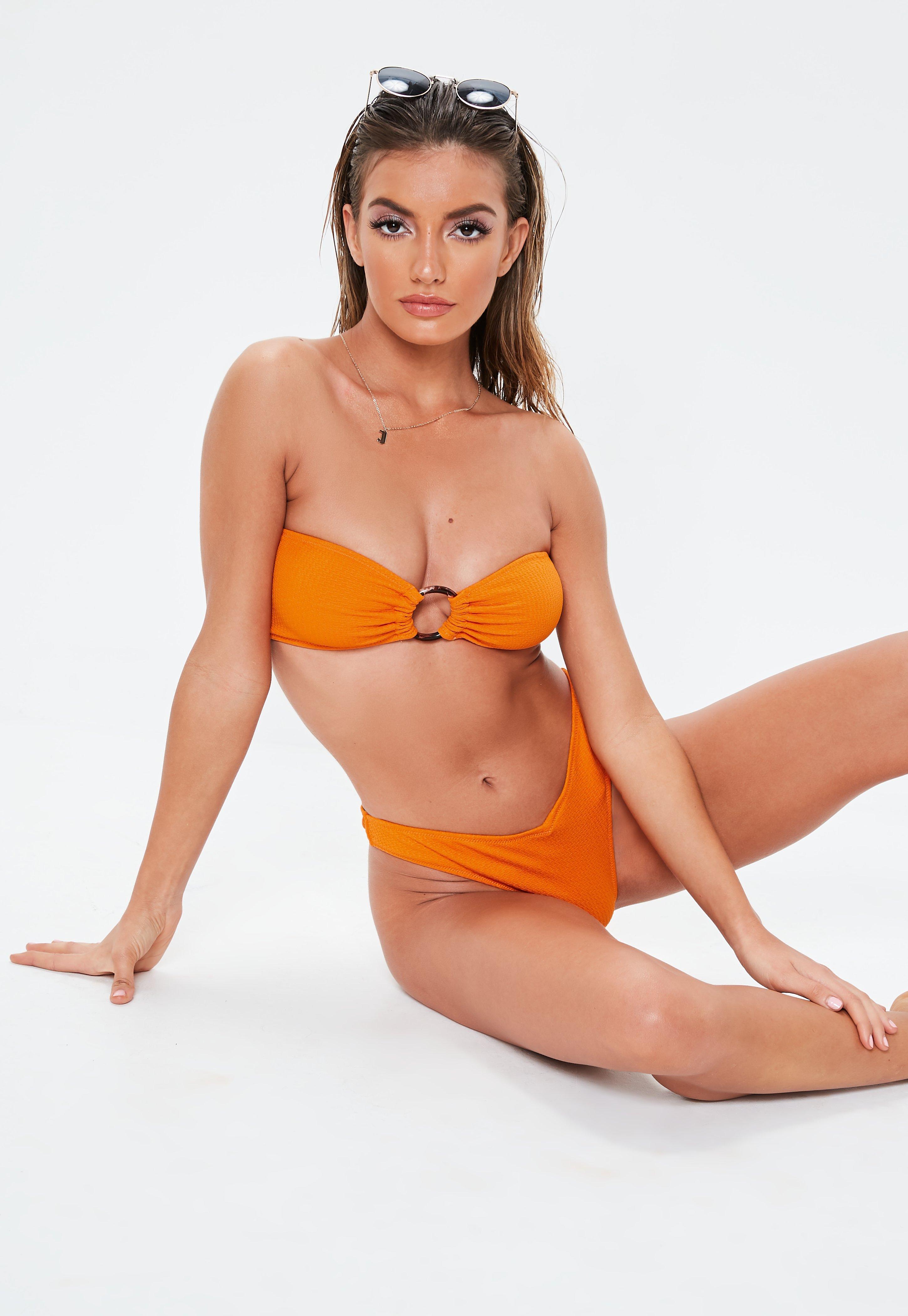 1ccdf208f1 Orange Swimwear | Orange Bikinis & Swimsuits - Missguided