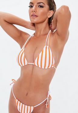 359d0aa175 Orange Bikini Tops