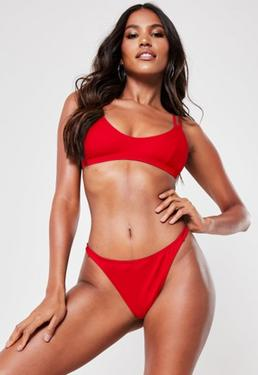 848a560fcac Red Swimwear   Red Bikinis & Swimsuits   Missguided