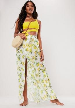 b594057ed1 Gold Dresses. Maxi Skirts. Split Maxi Skirts. Lace Up Skirts. Beach Cover Up.  Beach Trousers. Maxi Kimono