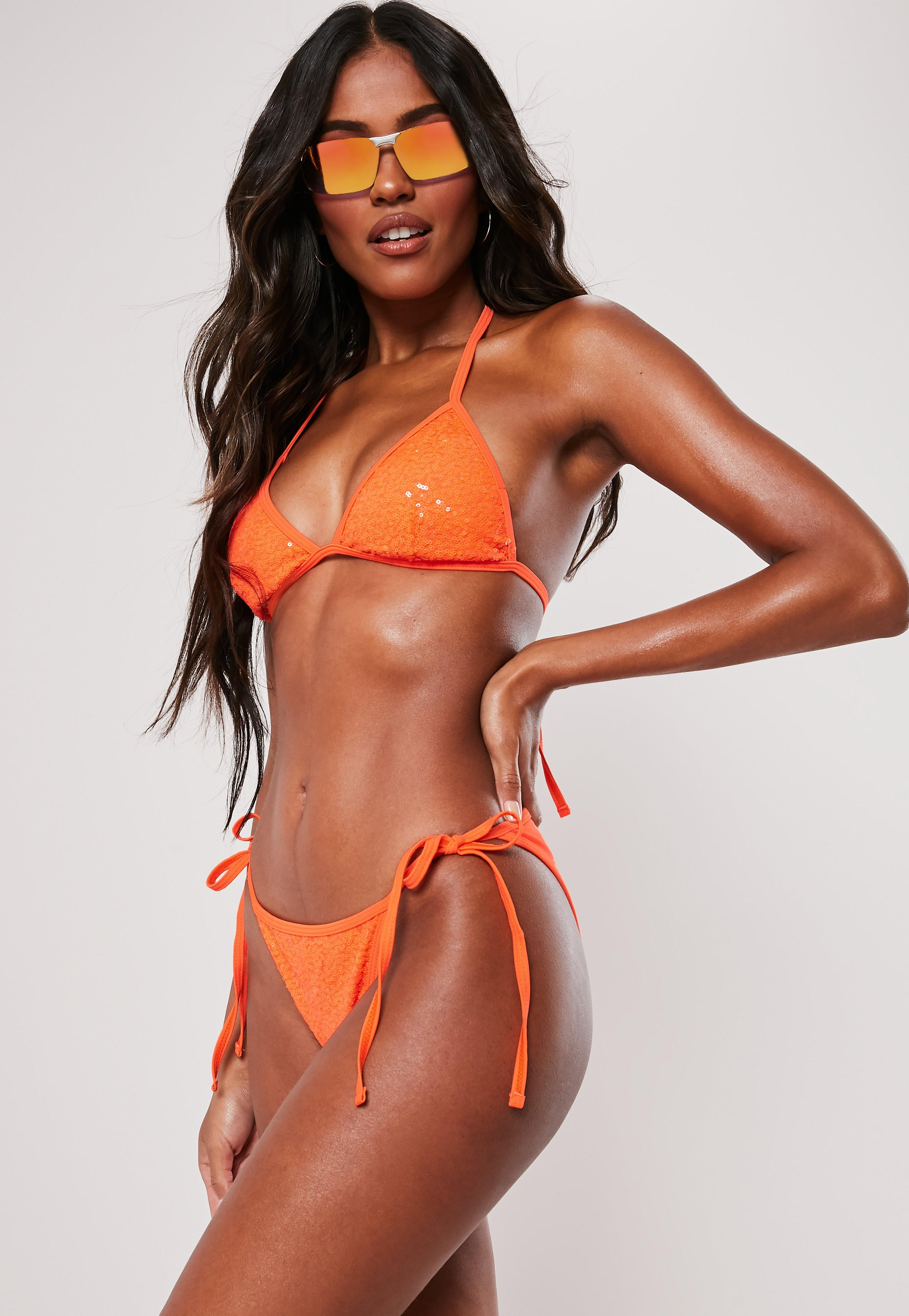34fef978e526e Orange Swimwear | Orange Bikinis & Swimsuits - Missguided
