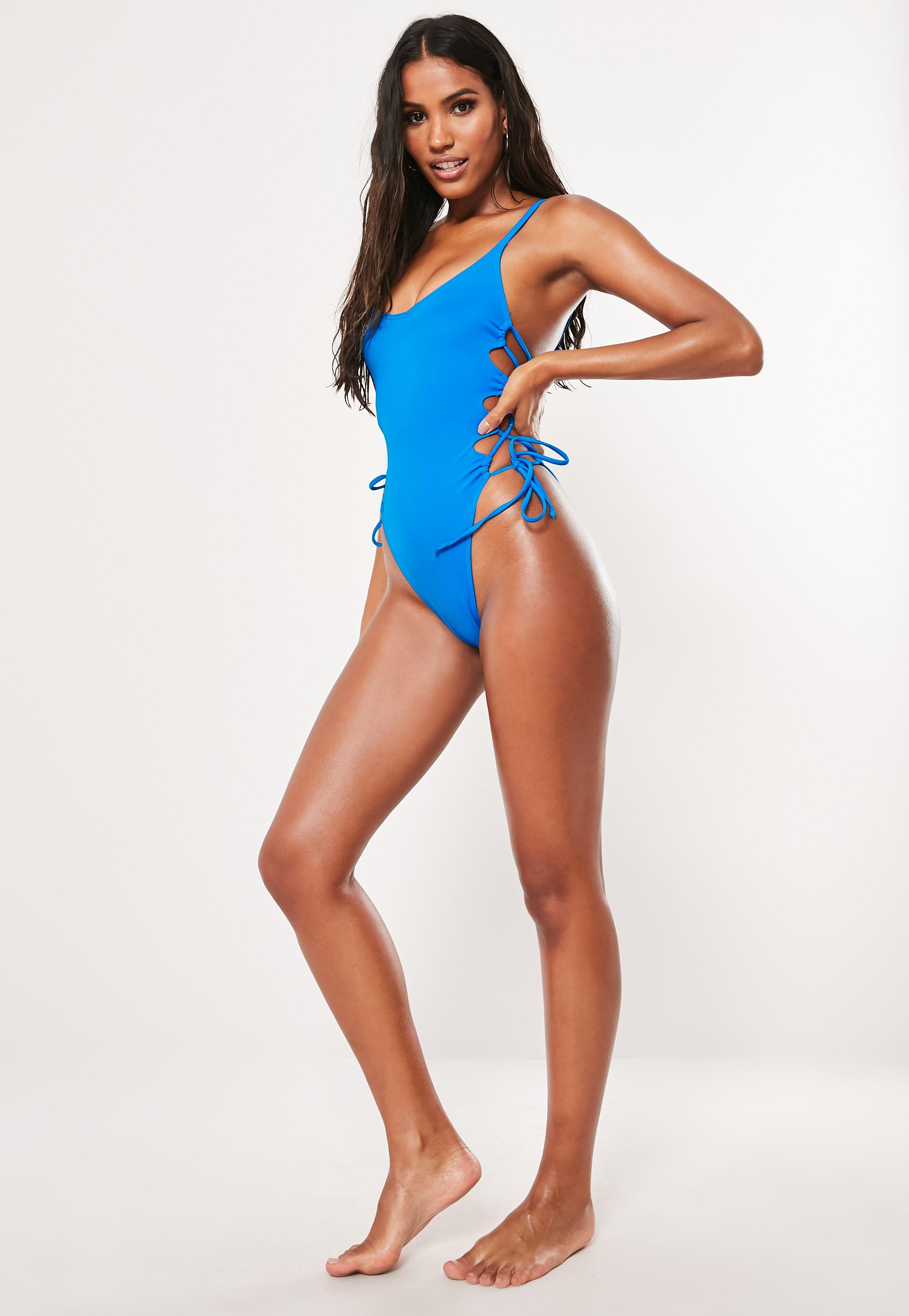 d670ed56218eb Blue Swimwear | Shop Blue Swimsuits & Biknis - Missguided