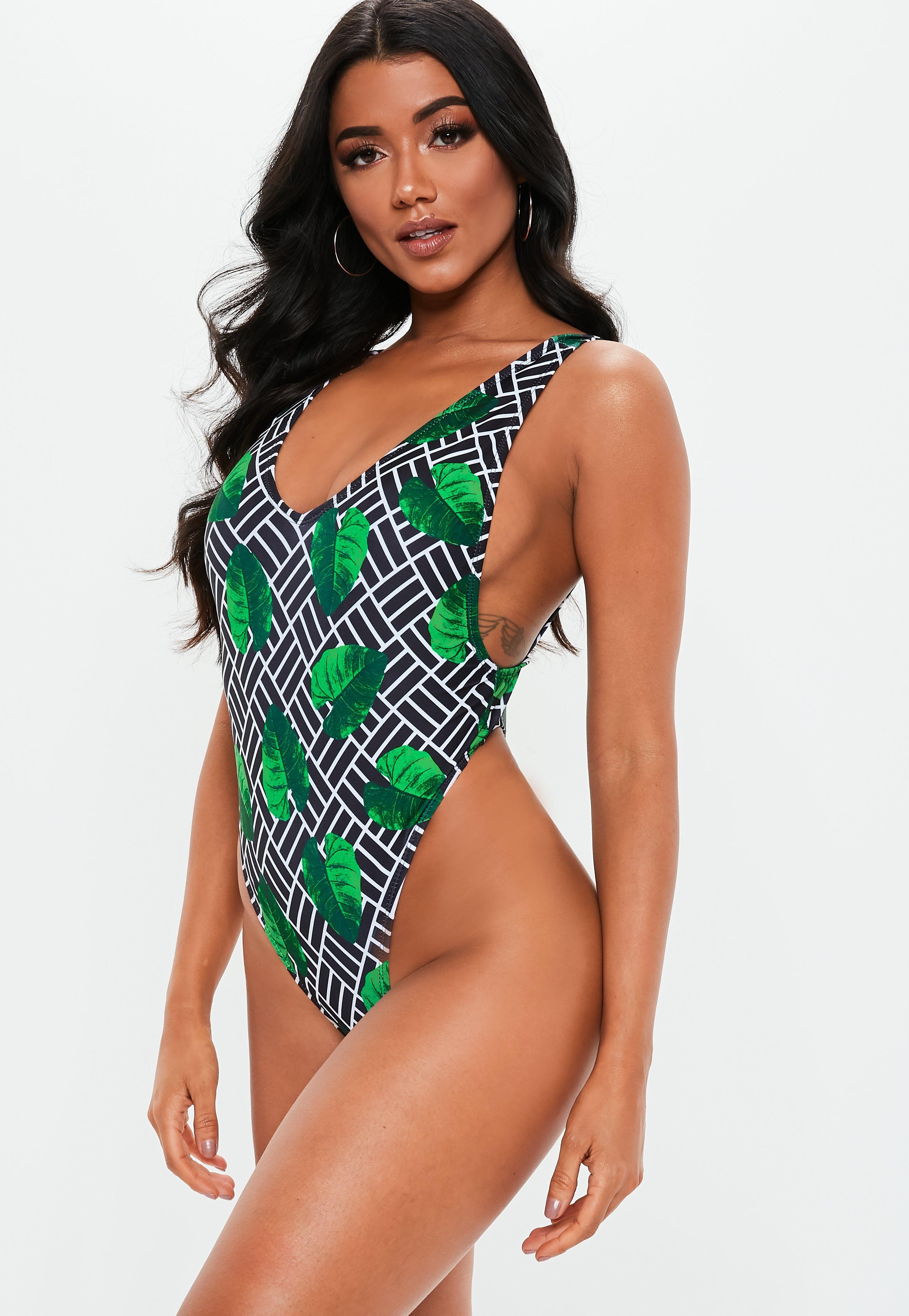 9f8bfa5b0b Plunge Swimsuits - Low Cut Swimsuits Online