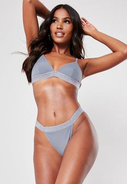 c4facd61d3893 Grey Bikinis | Women's Grey Bikinis Online - Missguided